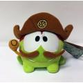 Om Nom (Ам Ням) в пиратской шляпе