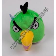 Зеленая птичка